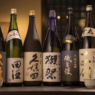 旨い刺身には最高の《酒》人気地酒TOP10の地酒は全て揃う