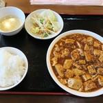 鎮海楼 - 四川風麻婆豆腐定食