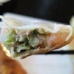 鎮海楼 - 食感の面でも味の面でも海老が効いている