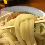 吾里丸 - 押し返してくるような弾力のある麺