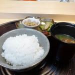 淡 如雲 - 釜炊きご飯