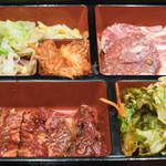 三千里 - 2016.12 満腹ランチ(1,050円)