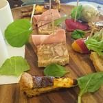 ジューダバレリーノ - 一口サイズの彩りカラフルな可愛らしい前菜たち♪