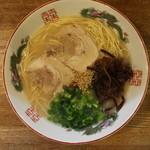 博多 - ラーメン(550円、真上から)