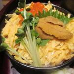59572801 - 北海道産ウニとイクラの二色丼