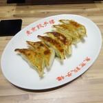 東京餃子楼 - 焼餃子(ニラ。にんにく入り)