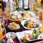 LIVE&鉄板居酒屋 二代目らんま - コース料理に飲み放題付き!