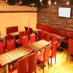 LIVE&鉄板居酒屋 二代目らんま - ダイニングスペース、最大40名様ご利用できます!