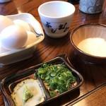 Yoshimura - 薬味、生卵、とろろ