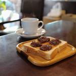 KAKO - ブレックファーストスペシャル トースト自家製あんジャム☆