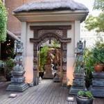バリラックス ザ ガーデン - Ⓑお店の入口に到着です