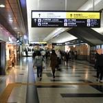バリラックス ザ ガーデン - 地下からの行き方①JR大阪駅地下中央改札口