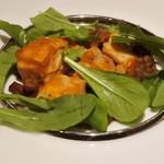 バリラックス ザ ガーデン - 【ジャカルタコース】松山鶏もも肉のレッドカレー風ロースト レンズ豆の煮込み添え(2人分)