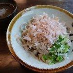 三井屋 - おろしそば(太麺) \500