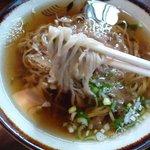 三井屋 - 細麺です