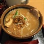 味噌蔵 麺四朗 - 北海道味噌らーめん  720円