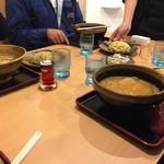 味噌蔵 麺四朗 - 男性陣はチャーハンや餃子、替え玉までいただいていました