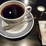 らんぷ - らんぷスペシャルブレンド、430円。 程よい酸味といい苦味を味わうことができましたヽ(´▽`)/♪