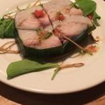イタリア酒場 エントラータ - 鯖と里芋のなんちゃらかんちゃら