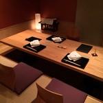 銀座 きた福 - 掘りごたつ個室