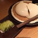 59581598 - ランチ お豆腐とお漬物