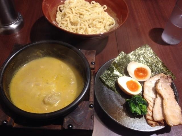 しゅういち 恵比寿店 - 特製カレーつけ麺