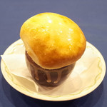 ろしあ亭 - カリーナ(2000円)のグリヴィ(キノコのクリーム煮)