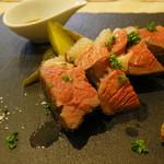 トラットリア ソメヤ - 仔羊ランプ肉のロースト