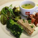 トラットリア ソメヤ - 「コース仕立て(1.000円)」の前菜