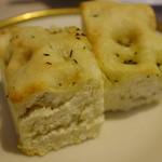 トラットリア ソメヤ - 「コース仕立て(1.000円)」のパン