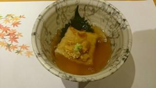 お料理なかき - 落花生豆腐