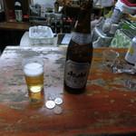 高崎屋本店 - キリンラガービール中瓶380円