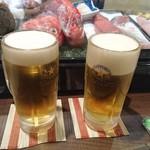 ちらい - ビール