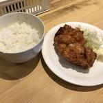 59586773 - ザンギ定食、150円