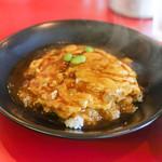 香里 - 料理写真:天津飯