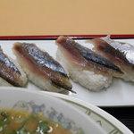 大蓮 - さんまの握り寿司