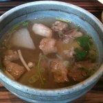 創作焼肉 神戸 牛乃匠 - 牛すじのスープ