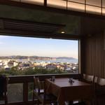 海光庵 - 窓から見える景色は素晴らしい