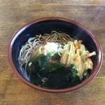 カウベル - 料理写真:天ぷらそば