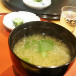 広尾 一会 - 味噌汁
