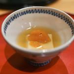 広尾 一会 - 胡麻豆腐