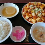 59594282 - 麻婆豆腐ランチ680円