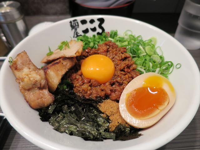 麺屋 こころ 蒲田店 - 台湾まぜそば_2016/12