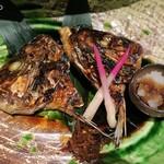 穂のか - 甘鯛のカマ焼き(値段不明)