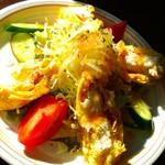 おむらはうす - 卵焼きポテトサラダ