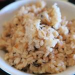 琉球食堂kafu - よく見たら麦入りでしたよ