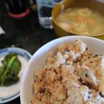 琉球食堂kafu - ジュシーはセルフで