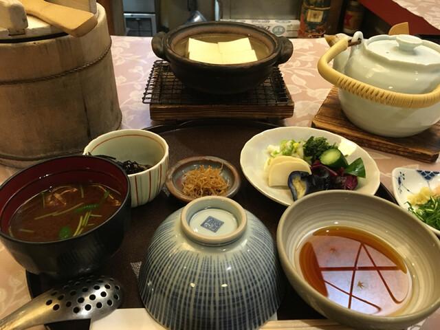 やげんぼり 赤坂店 - 嵯峨野 ゆ豆腐