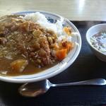 さくら食堂 - カツカレー ¥850