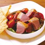 ピソラ - 鴨の燻製 バルサミコソース